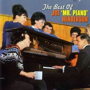 JOE MR PIANO HENDERSON - THE BEST OF (NEW SEALED CD)