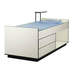Ikea Cabin Single BED 2 Drawers AMP Desk Children Bedroom ...