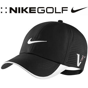 NWT-Nike-Tour-Perforated-20X1-Golf-Cap-Hat-Black-MSRP-22