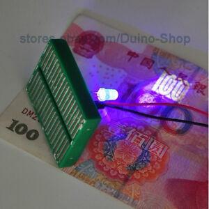 10-PCS-Purple-LED-Check-Banknote