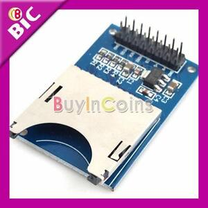 Perfect-SD-Card-Module-Slot-Socket-Reader-For-Arduino-ARM-MCU-Read-And-Write