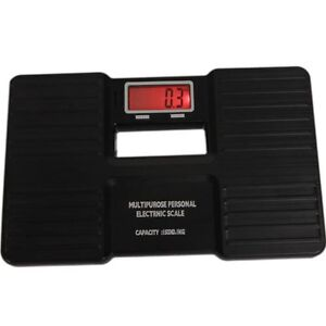 New 150KG / 330 LB Digital Bath Bathroom Glass Weight Scale