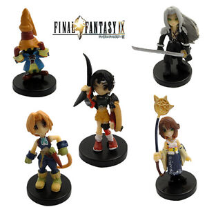 Final Fantasy Sephiroth Yuna Zidane Figure Set Of 5Pcs