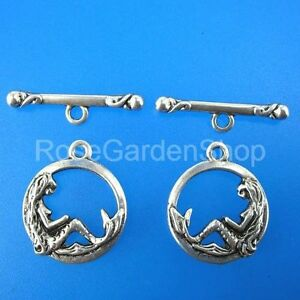10sets-16mm-antiqued-silver-mermaid-toggle-clasps-G213