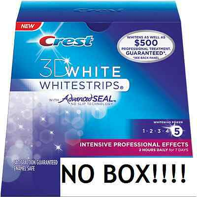 Crest Whitestrips 3D White Strips INTENSIVE Professional Effects Teeth Whitening on Rummage