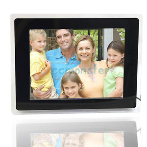 New-12-1-800-600-Digital-Albums-Photo-Frame-SD-MMC-MS-MP3-MP4-Black