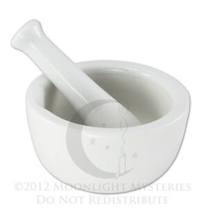 Small-White-Porcelain-Mortar-and-Pestle-Pharmacy-Nurse