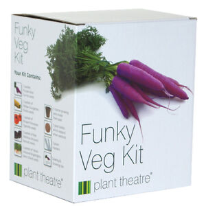 Funky Veg Kit by Plant Theatre - 5 Extraordinary  Vegetables to Grow -Great Gift