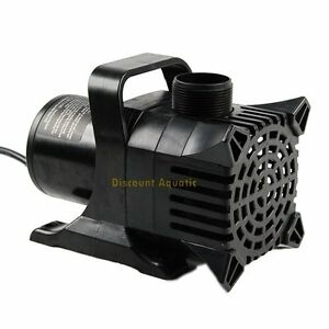 4200 Gph Submersible Aquarium Fish Pond Fountain Waterfall Water Garden Pump