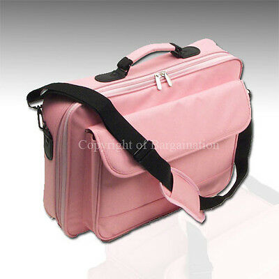 "17""16""15""Laptop Notebook carrying bag case briefcase ~Pink on Rummage"