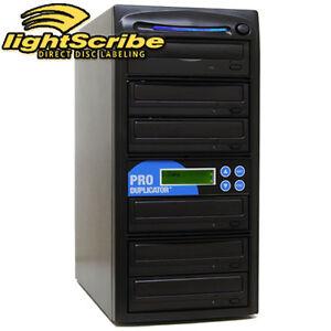 ProDuplicator-1-5-Burner-24X-CD-DVD-Lightscribe-Duplicator-Printing-Publishing