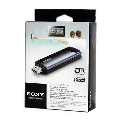 Sony UWA-BR100 USB Wi-Fi Network Retail Packaging (43427181150) Wireless Adapter