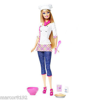 Barbie I Can Be Chef Career Doll W/ Accessories You Can Play Chef