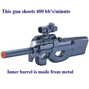 FULLY-AUTOMATIC-airsoft-Electric-D90H-Shoots-300-BBs-Min-Metal-Inner-Barrel