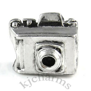 Wholesale-10pcs-Digital-Camera-Silver-European-Bracelet-Spacer-Charm-Beads-W-349