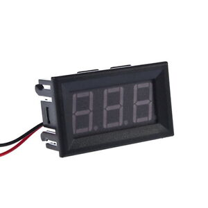 NEW-4-5-30V-Digital-MiNi-LED-Car-Truck-Voltmeter-Gauge-Voltage-Volt-Panel-Meter