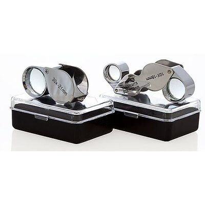 Gift Idea 12pc 30x + 20x Diamond Jewelry Eye Loupe Magnif...