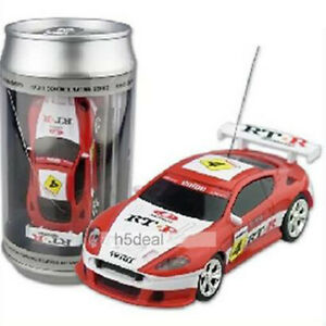 coke can mini rc radio remote control micro racing car ebay. Black Bedroom Furniture Sets. Home Design Ideas