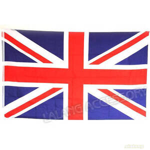 1x Large UNION JACK Flag UK Great Britain British National Sport Olympic 120408