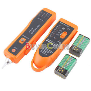 Network LAN Cable Tester Wire Tracker RJ45 RJ11 Line Finder Scanning Device #2
