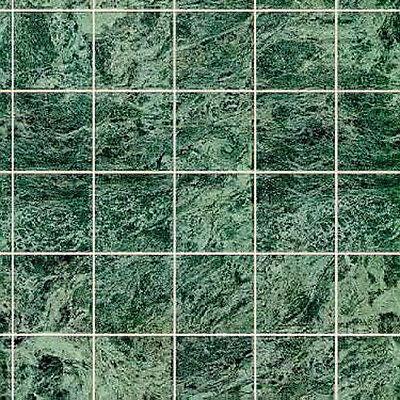 1/12 Scale Green Marble Dollhouse Tile Flooring #MH5957