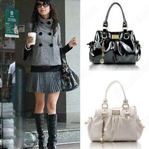 Korean-Style-Fold-Womens-Fashion-Leather-Handbag-Shoulder-Bag-Tote-Bag-Hot