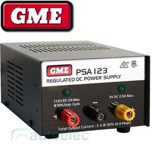 GME-DC-REGULATED-POWER-SUPPLY-TRANSFORMER-12-VOLT-12V-4-AMPS-AMP-NEW-PSA123