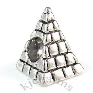 Wholesale-10pcs-Egypt-Pyramid-Silver-European-Bracelet-Spacer-Charm-Beads-W-409