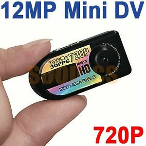 12MP Mini HD Digital Spy Camera Recorder Camcorder DV Car DVR Motion Detection