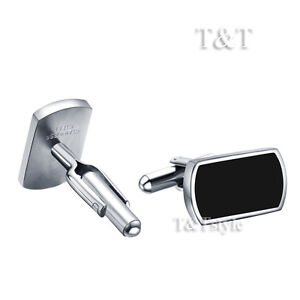 Top-Quality-T-T-316L-Stainless-Steel-Cufflinks-CU34