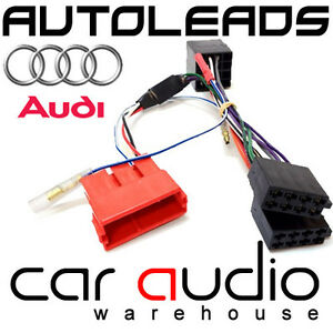 audi a3 a4 a6 tt rear speaker amplified bypass car stereo ... audi tt dashboard wiring harness