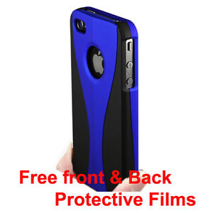 BLUE-BLACK-APPLE-IPHONE-4-4S-4G-3-PIECE-HARD-CASE-COVER