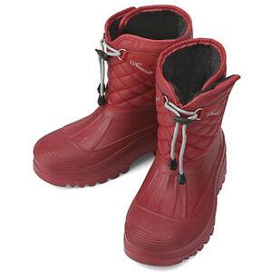 Creative Burberry Womens Shoes Red Winter Rain Boots BUR050