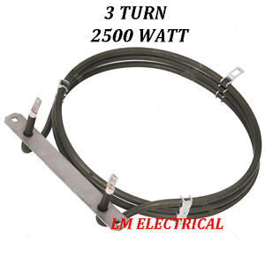 ZANUSSI AEG TRICITY BENDIX FAN OVEN ELEMENT - 2500WATT