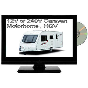 12V-16-inch-HD-LED-TV-DVD-Digital-Freeview-USB-Combi-12-Volt-Cable