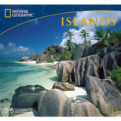 Islands National Geographic 2013 Wall Calendar on Rummage