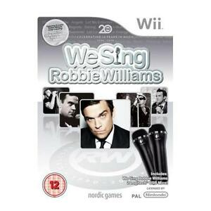 Nintendo Wii game ***** WE SING ROBBIE WILLIAMS ***** new sealed