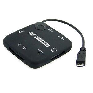 Black-Samsung-s2-I9220-I9250-i9100-s3-i9300-Micro-USB-Host-OTG-HUB-CARD-READER