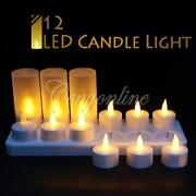 Rechargeable Flameless Candles