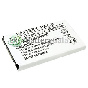 New Battery 500mAh for Motorola a630 p280 v60 v60c v60g v60i v60p v60s v60x v65p