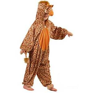 KIDZ ANIMAL GIRAFFE CHILD COSTUME WILDLIFE (LARGE) FANCY DRESS