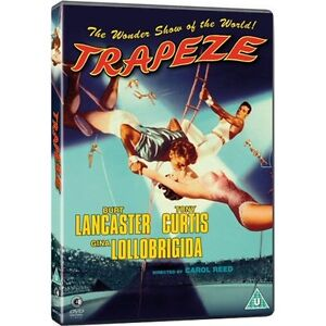 Trapeze - DVD NEW & SEALED - Burt Lancaster, Tony Curtis, Gina Lollobrigida