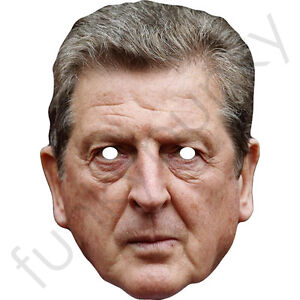 Roy Hodgson England Manager Celebrity Face Mask - WBA - Made In The UK