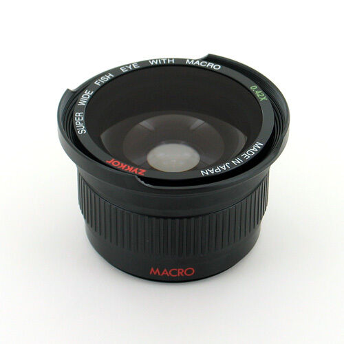 Fisheye Wide Angle 0.42x For Sony Alpha Nex 5t 6 7 3n A6000 A5100 A5000 16-50mm