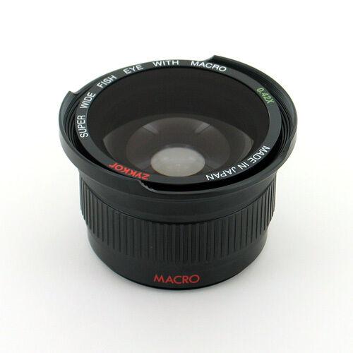 Fisheye Wide Angle 0.42x For Sony Alpha Nex 5t 6 7 3n A6000 A5100 A5000 16-50mm