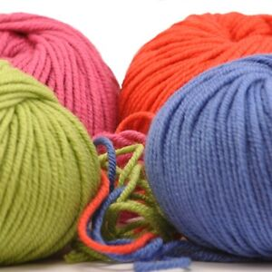 ARAN-100-Fine-Merino-Machine-Wash-Wool-18-COLOURS-Bessie-May-SMITSY