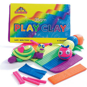 PLASTICINE-MINI-MODELLING-PLAY-CLAY-GREAT-PARTY-BAGS-FILLERS-TOYS-GIFTS-KIDS-35g