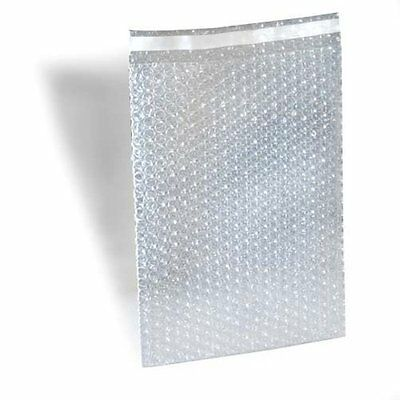 550 7 X 8.5 Clear Bubble Out Bags Protective Wrap Pouch Self Seal 7x8.5 Ez-seal