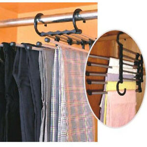 5-In-1-Multifunctional-Stainless-Steel-Trousers-Rack-Closet-Organizers-Portable