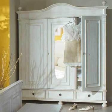 landhaus kleiderschrank massivholz shabby chic in stuttgart stuttgart ost ebay kleinanzeigen. Black Bedroom Furniture Sets. Home Design Ideas